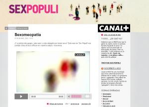 """Espíritu Tantra en """"Sex pópuli"""" de Canal+ (episodio Sexomeopatía)"""